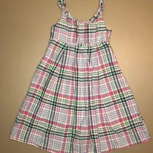Ralph Lauren plaid sleeveless dress
